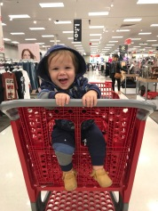 We went to Target to feel normal a couple times